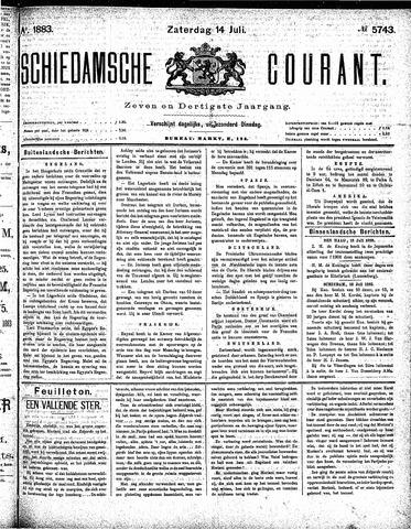 Schiedamsche Courant 1883-07-14