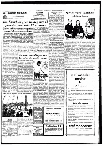 Rotterdamsch Nieuwsblad / Schiedamsche Courant / Rotterdams Dagblad / Waterweg / Algemeen Dagblad 1966-03-03