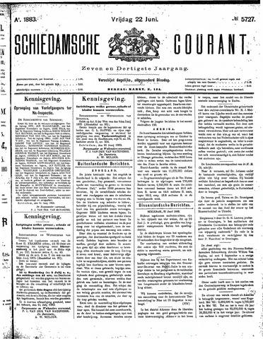 Schiedamsche Courant 1883-06-22