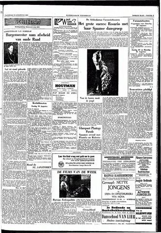Rotterdamsch Nieuwsblad / Schiedamsche Courant / Rotterdams Dagblad / Waterweg / Algemeen Dagblad 1953-08-29