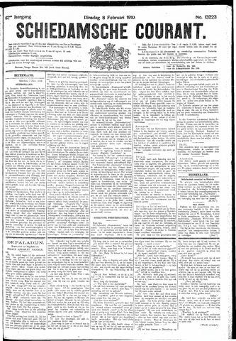 Schiedamsche Courant 1910-02-08