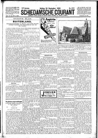 Schiedamsche Courant 1929-09-20