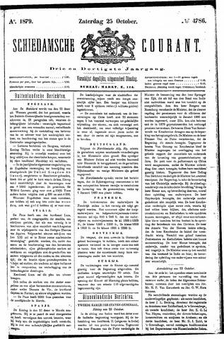 Schiedamsche Courant 1879-10-25