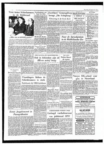 Rotterdamsch Parool / De Schiedammer 1955-09-21