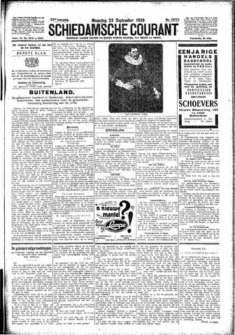 Schiedamsche Courant 1929-09-23