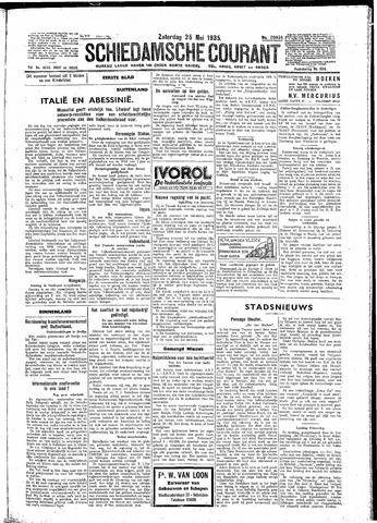 Schiedamsche Courant 1935-05-25
