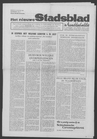 Het Nieuwe Stadsblad 1963-11-06
