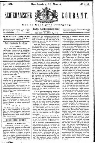 Schiedamsche Courant 1877-03-29