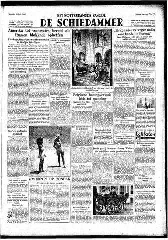 Rotterdamsch Parool / De Schiedammer 1948-07-26