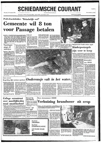 Rotterdamsch Nieuwsblad / Schiedamsche Courant / Rotterdams Dagblad / Waterweg / Algemeen Dagblad 1974-11-13