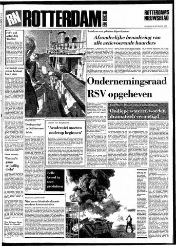 Rotterdamsch Nieuwsblad / Schiedamsche Courant / Rotterdams Dagblad / Waterweg / Algemeen Dagblad 1983-09-24