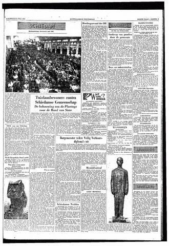 Rotterdamsch Nieuwsblad / Schiedamsche Courant / Rotterdams Dagblad / Waterweg / Algemeen Dagblad 1953-07-09