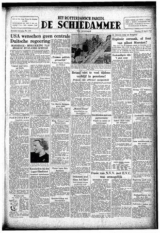 Rotterdamsch Parool / De Schiedammer 1947-04-29