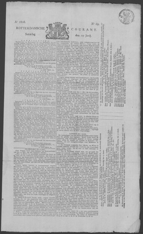 Rotterdamse Courant 1826-06-10