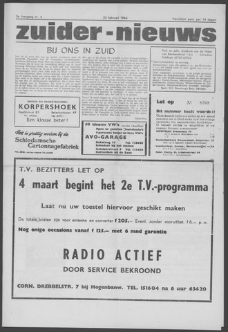Zuider Nieuws 1964-02-20