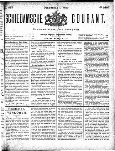 Schiedamsche Courant 1883-05-17