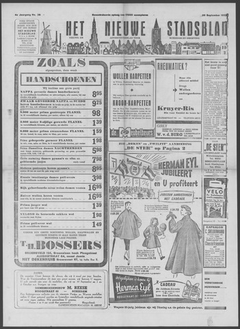 Het Nieuwe Stadsblad 1952-09-26
