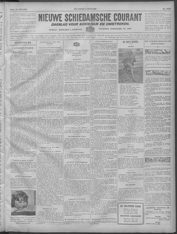 Nieuwe Schiedamsche Courant 1932-06-06