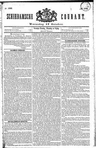 Schiedamsche Courant 1866-10-17