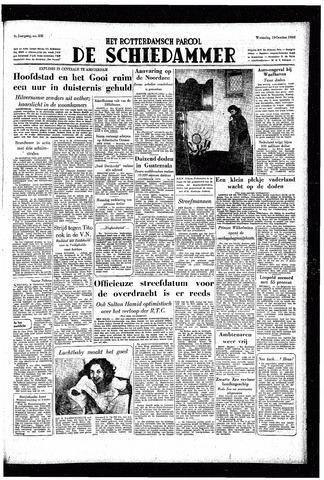 Rotterdamsch Parool / De Schiedammer 1949-10-19