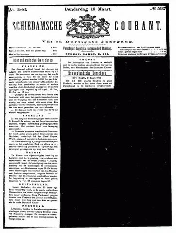 Schiedamsche Courant 1881-03-10