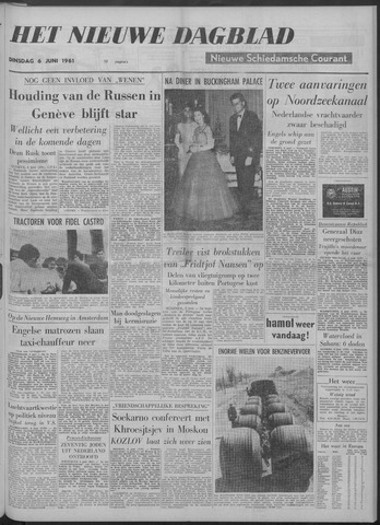 Nieuwe Schiedamsche Courant 1961-06-06