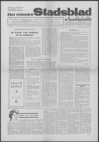Het Nieuwe Stadsblad 1963-02-13