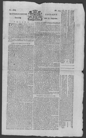 Rotterdamse Courant 1803-08-27