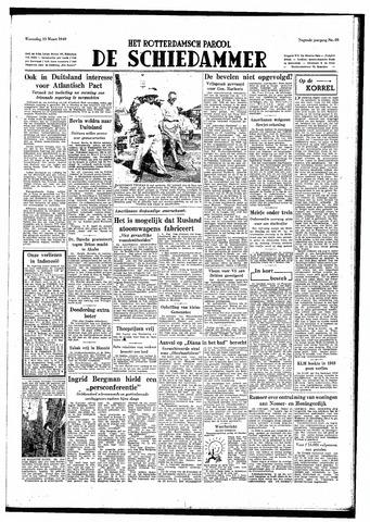 Rotterdamsch Parool / De Schiedammer 1949-03-23