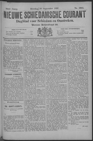 Nieuwe Schiedamsche Courant 1897-09-28