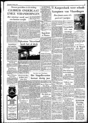 Rotterdamsch Parool / De Schiedammer 1961-10-04