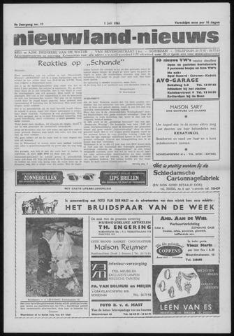 Nieuwland Nieuws 1965-07-01