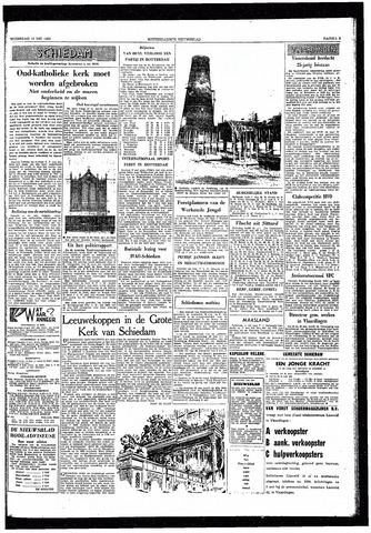 Rotterdamsch Nieuwsblad / Schiedamsche Courant / Rotterdams Dagblad / Waterweg / Algemeen Dagblad 1959-05-13