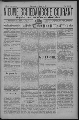 Nieuwe Schiedamsche Courant 1913-06-16