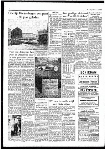 Rotterdamsch Parool / De Schiedammer 1955-02-23