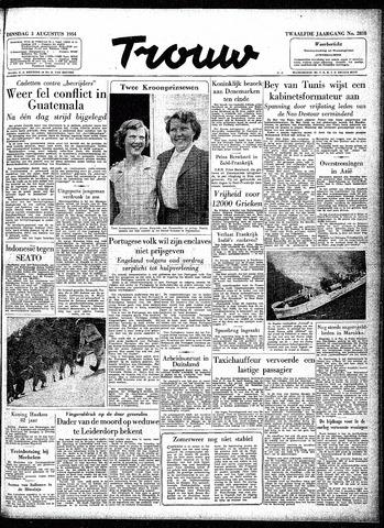Trouw / De Rotterdammer 1954-08-03