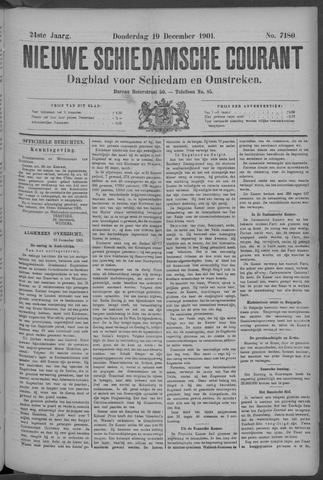 Nieuwe Schiedamsche Courant 1901-12-19