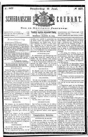 Schiedamsche Courant 1877-06-14