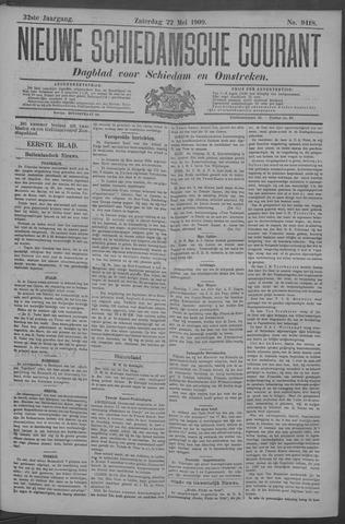 Nieuwe Schiedamsche Courant 1909-05-22