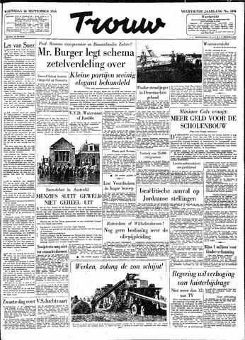 Trouw / De Rotterdammer 1956-09-26