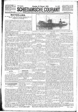 Schiedamsche Courant 1929-02-18