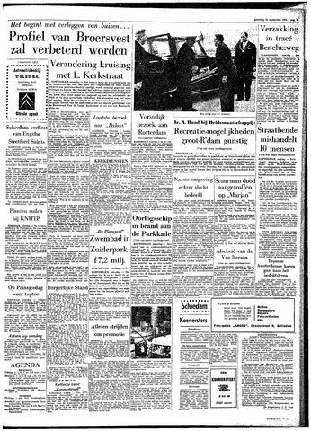 Rotterdamsch Parool / De Schiedammer 1964-09-12