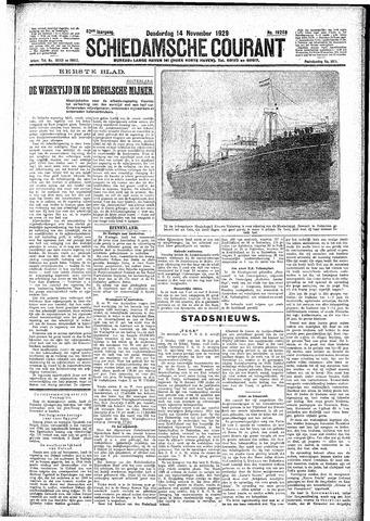 Schiedamsche Courant 1929-11-14