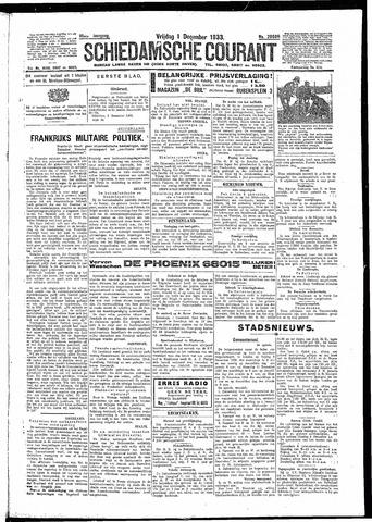 Schiedamsche Courant 1933-12-01
