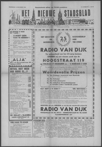 Het Nieuwe Stadsblad 1954-12-15