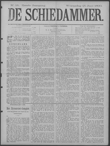 De Schiedammer 1890-06-25