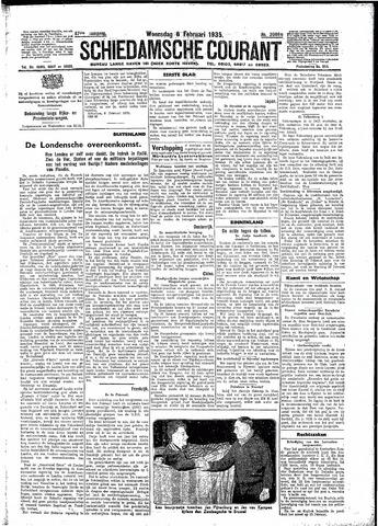 Schiedamsche Courant 1935-02-06