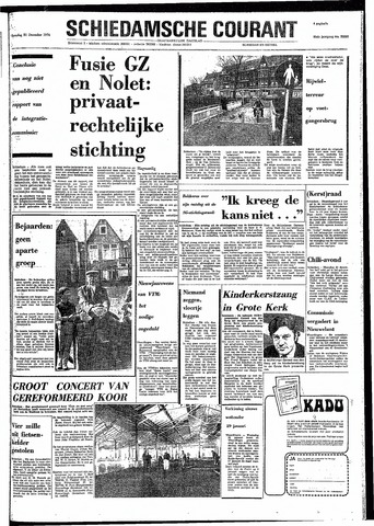 Rotterdamsch Nieuwsblad / Schiedamsche Courant / Rotterdams Dagblad / Waterweg / Algemeen Dagblad 1974-12-21