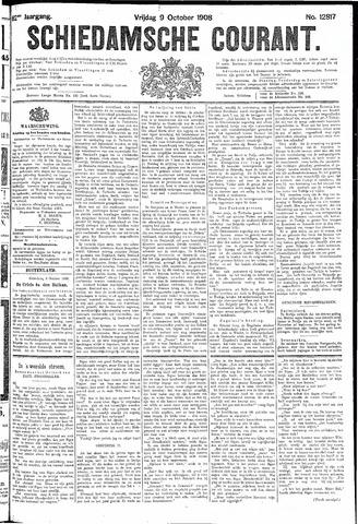 Schiedamsche Courant 1908-10-09