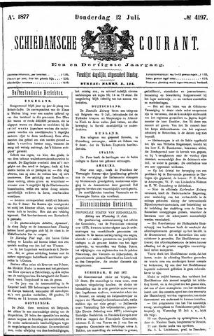 Schiedamsche Courant 1877-07-12